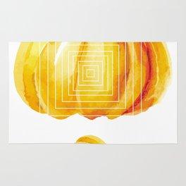 Thanksgiving Pumpkins Printable Minimal Abstract Rug