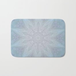 Blue Crown Bath Mat