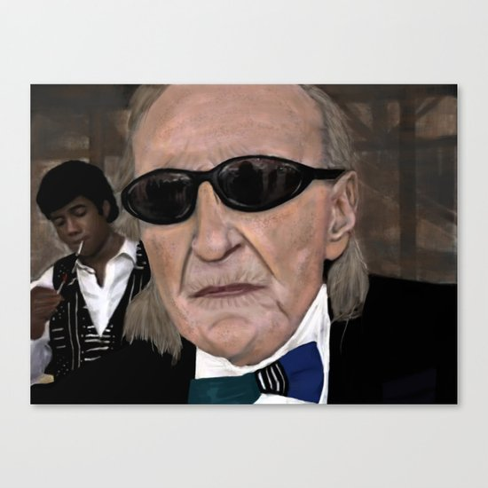 I'm 83 Years Old and I Like to Dress Canvas Print