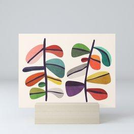 Plant specimens Mini Art Print