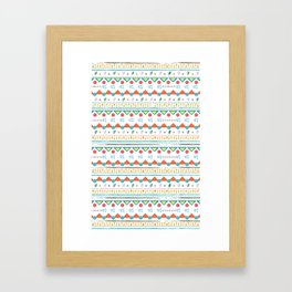 Maci pattern Framed Art Print