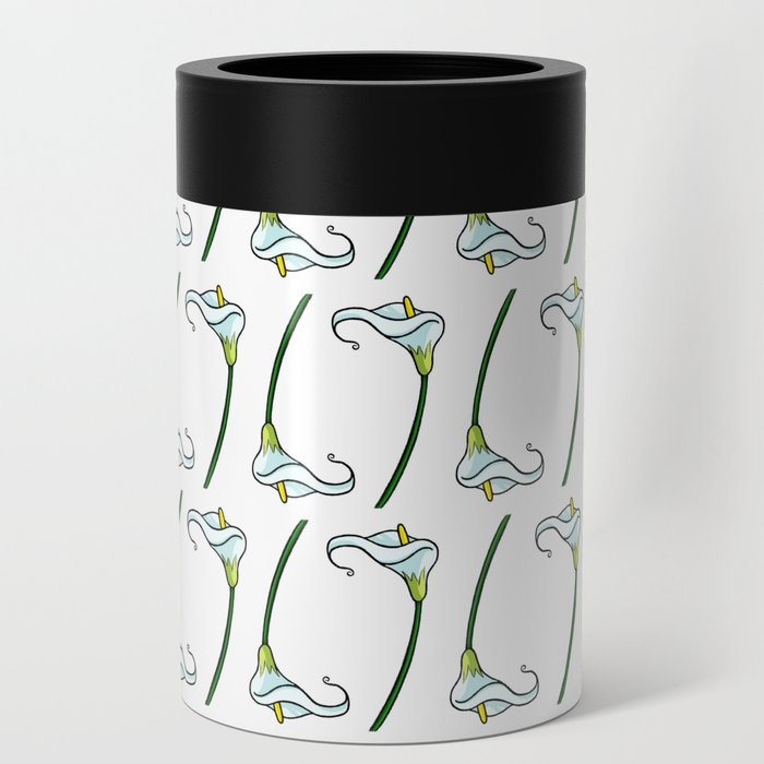 Lilies pattern Can Cooler