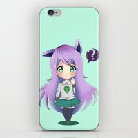 chibi iPhone & iPod Skins featuring Chibi by Alice