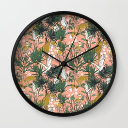 ANIMALS IN THE RAINFOREST I Wall Clock