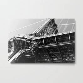 Manhattan Bridge 1 Metal Print