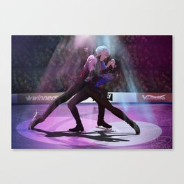 Yuri on ICE final skate Canvas Print