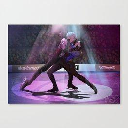Yuri on ICE final skate Canvas Print
