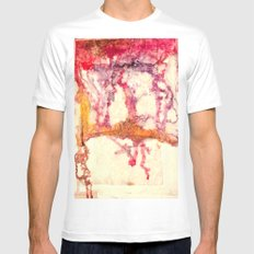 Medicated White Mens Fitted Tee MEDIUM