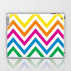 Chevron Sherbet Laptop & iPad Skin