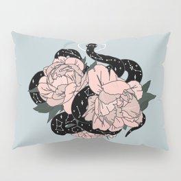 Celestial Snake in Blue Original by Moon Goddess Market Pillow Sham