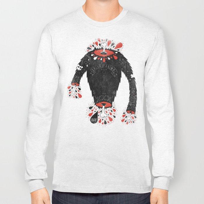 SALVAJEANIMAL headless II Long Sleeve T-shirt
