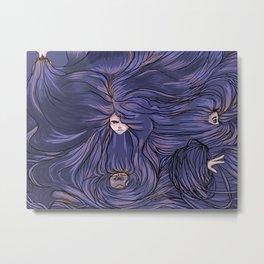 Her (Hair) Metal Print