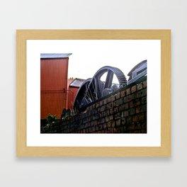 gears of time Framed Art Print