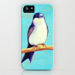 Swallow iPhone Case