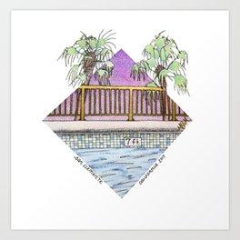 San Clemente Diamond 2017 Art Print