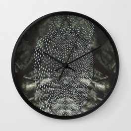 Owl in the Trees Wall Clock