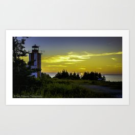 Pt. Prim Lighthouse Art Print