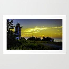 Pt. Prim Lighthouse Art Print