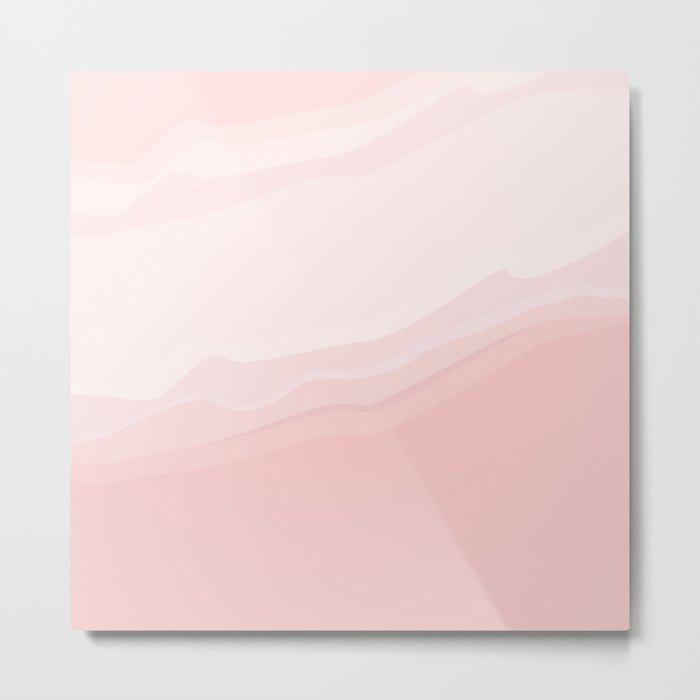 Souffle , pink Metal Print