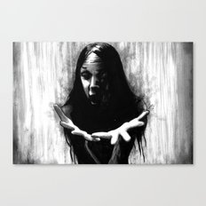 The Raven Was Called Sin Canvas Print