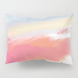Sunset Clouds- serene view from my porch Pillow Sham