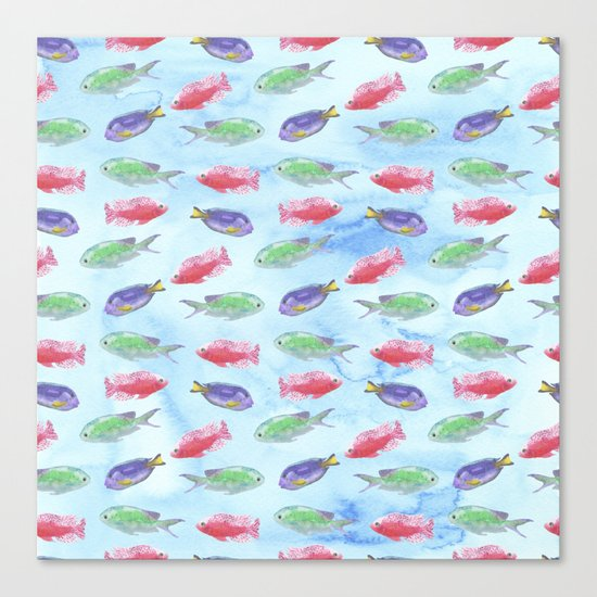 Tropical Fish Canvas Print