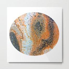 Circle OB Metal Print