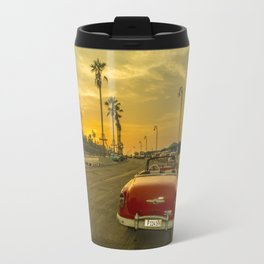 Habana convertible sunset Travel Mug