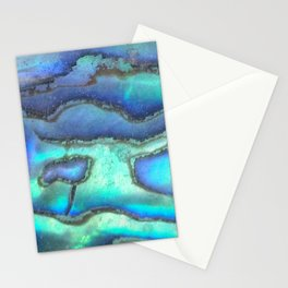 Caribbean abalone Stationery Cards