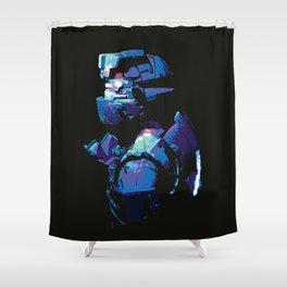 Dead Space: Splatter Isaac Shower Curtain