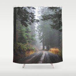 Into The Forest IV - Pacific Northwest Nature Adventure Shower Curtain