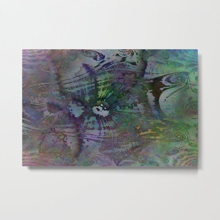 Fractal Waterfalls Metal Print