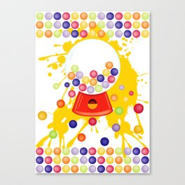 Gumball_Machine Canvas Print