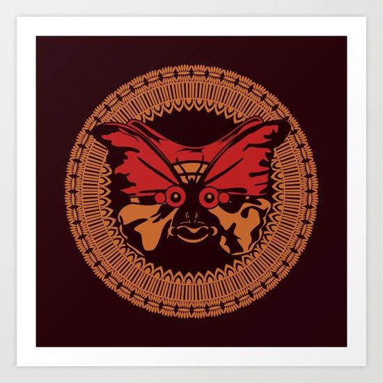 Puppet Butterfly Art Print