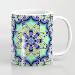 A touch of Spring, fantasy flower pattern design Coffee Mug