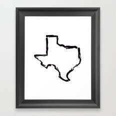 Best. State. Ever. Framed Art Print