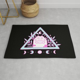 Witchy Cat Paw // Black Rug