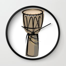 Djembe Wall Clock