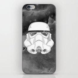 Trooper Silver iPhone Skin