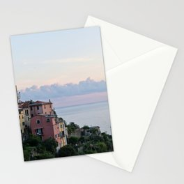 Cirque Terre at Dusk Stationery Cards