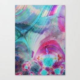pastel geometrical asbtract Canvas Print