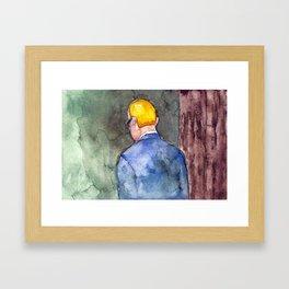 Burbank Framed Art Print