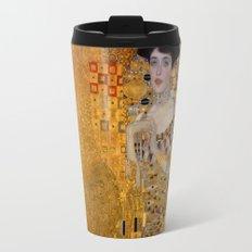 Adele Bloch-Bauer I by Gustav Klimt Travel Mug