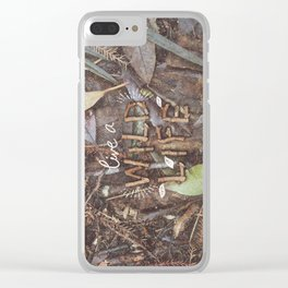 Live a Wild Life Clear iPhone Case