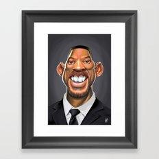 Celebrity Sunday ~ Will Smith Framed Art Print