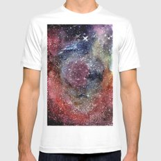 Caldwell 49 White MEDIUM Mens Fitted Tee