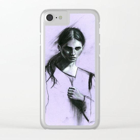 Cloaked Clear iPhone Case