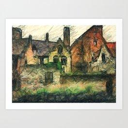 In Brugge  Art Print