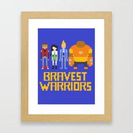 Bravest Warriors Framed Art Print