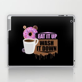 Eat It Up - Wash It Down Laptop & iPad Skin